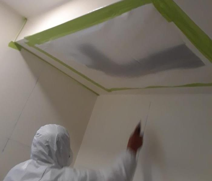 Mold Discovery in Long Beach Home- We Can Remediate! Before