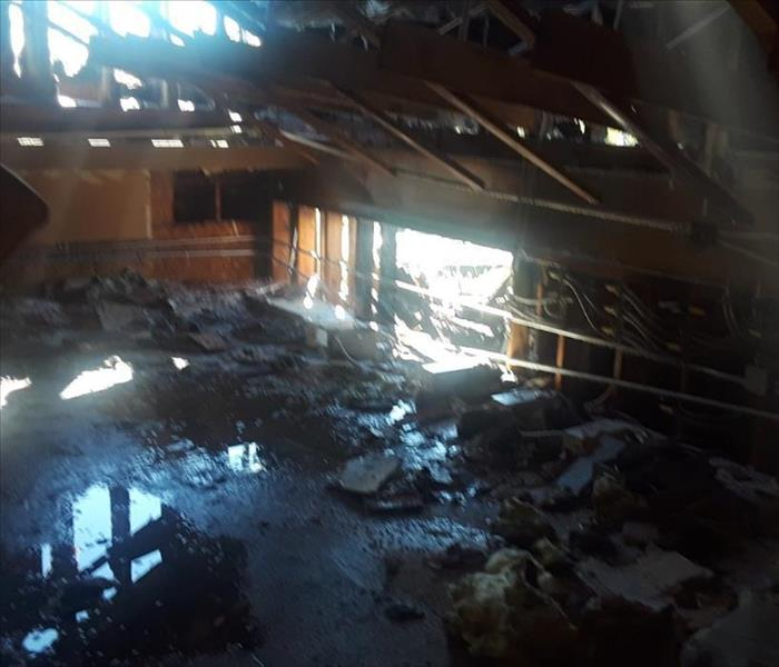 FIRE AND WATER DAMAGE IN LONG BEACH BUSINESS