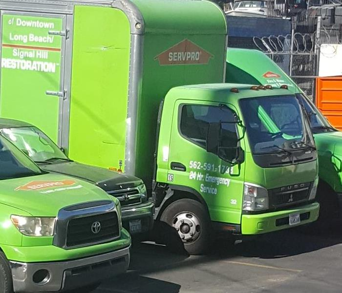 SERVPRO of Downtown Long Beach/Signal Hill Team is ready to help!